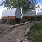 Covered Wagon Accomodation
