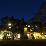 Ahwahnee at night