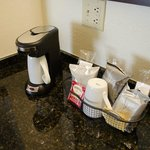Good coffee maker and supplies