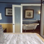 Fabulous bath in third floor suite