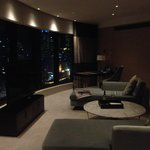 Premier Suite at night