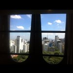View of São Paulo from windows