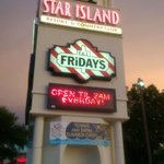 Star Island Entrance at End of Road near TGI Friday's
