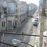 View from the living room on the Neptuno street