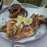 Mixed Grilled Sea Food Plate