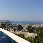 Bodrum from the Infinity Pool