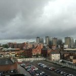 city veiw room (well, it is Manchester, what do you expect, sunshine????!!!!)