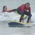catching a wave!