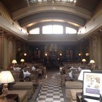 The grand bar in the lobby