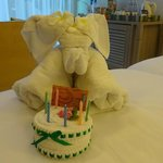 Birthday gift from room service