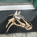 Horse themed doormat