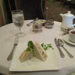 Tea time at Palm Court