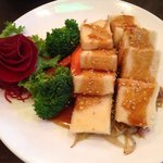 Tofu teriyaki lunch plate yummy!