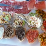 Tuscan specialities as starter