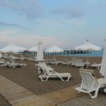 Beach Area of Barut Lara Hotel