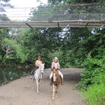 Horseback Riding along River