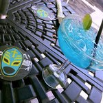 Lucha Libre and Blue Margartia (YUM)