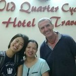 Foto de Old Quarter Cyclo Hotel