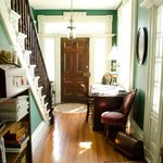 Foyer and library nook