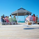 wedding at the pier