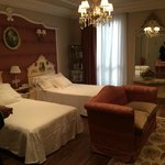 Special room where Hemmingway stayed during San Fermin Festival