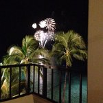 Fireworks in the middle of the ocean - amazing!