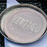 Vertigo signature coasters for our Drinks