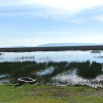 the lagoons near the hotel and near the lake titicaca
