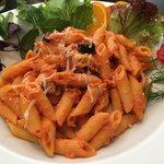 Great pasta! The food here is so good I thought they were Italian! Great for us especially since