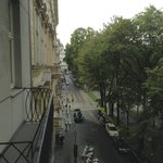 Balcony view looking left on Opernring
