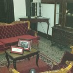 Where JFK sat and lounged