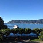 View of the Maggiore lake from our room.