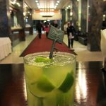 A must have: Caipirinha in the hotel restaurant