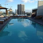 Rooftop pool - only 3 feet deep