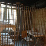 Jail cell of olden times