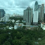 view from our suite…Dutch embassy and US ambassador's residence!