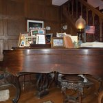 Historic Piano which Ms. Mary plays guest requests from