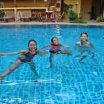 enjoy with pool