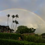 Rainbow as seen from Napili Kai