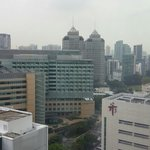 Oasia hotel view from 18th floor.
