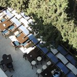 The Ouzo Bar from above