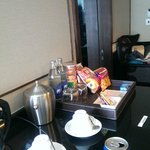 Minibar, coffee/tea facilities