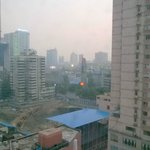 Chengdu at dawn from Holiday Inn Express