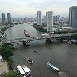 View of Chao Phraya River from Horizon Club