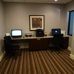 nice business room, everything worked and paper to use for printer was there