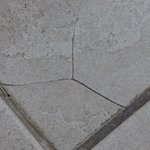 Cracked, loose tiles pinch your feet.