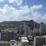 view from balcony of Diamond Head