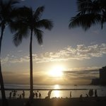 Sunset on Waikiki Beach (what are you waiting for?!!)
