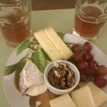 The Vermont cheese platter!
