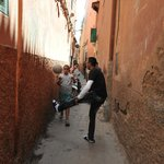 Alleyway to the riad